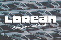 Lorean Awesome Font Product Image 1