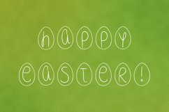 Easter egg font in ttf, otf Product Image 4