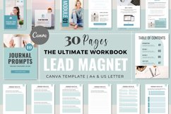 Workbook Lead Magnet Template for Coaches   Canva Templates Product Image 1