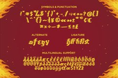 On Fire - A Fun and Fiery Display Font Product Image 4