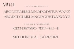 One Mith Font Duo Product Image 3