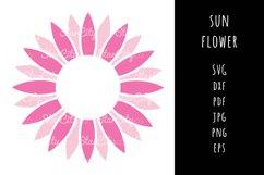 Sunflower SVG Cut File, Sunflower Cutting file, Cut File Product Image 1
