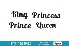 king svg, queen svg, princess svg, prince svg, king svg file Product Image 1