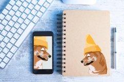Dog Vector Illustration | Cone Dog Product Image 4