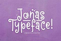 Web Font Jonas Product Image 1