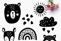 BUNDLE! Scandinavian Style Animal Bundle - SVG Cut Files Product Image 2