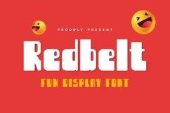 Web Font Redbelt Font Product Image 1