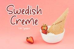 Swedish Creme Cute Typeface Product Image 1