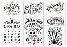 !! HUGE !! Christmas Sign Making Bundle Product Image 2