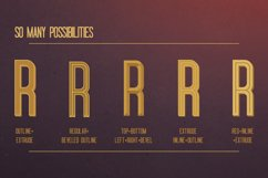 Oblivium Layered Font Family Product Image 4