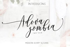 Adova zombia Font Duo Product Image 1