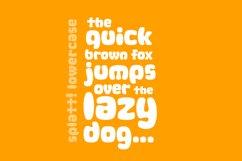 Splatt! a fat, splattered fun font Product Image 2