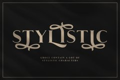 Groce - Stylistic Serif Font Product Image 6