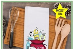 2020 Christmas Survival Kit Santa Sack Sublimation Design Product Image 4