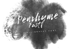 Penrhyme Calligraphy Font Product Image 6