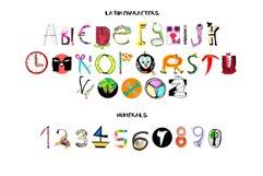 Junior bitmap color font Product Image 2