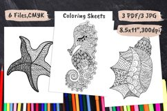 Coloring Book Pages PDF, JPEG Product Image 1