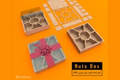 Nuts Box - Laser cut File Product Image 1