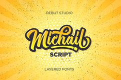 Michail Script - Layered Fonts Product Image 1