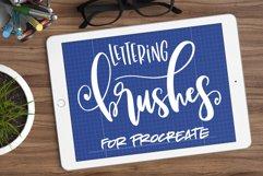 Nine Procreate Brushes for Lettering Product Image 1