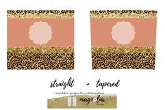 leopard glitter tumbler wrap png 20 oz tumbler bundle Product Image 5