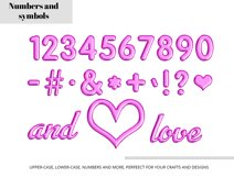 Purple Foil Balloon Letters Numbers & Symbols Clipart Product Image 2