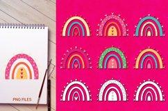 Rainbow love - Valentine Illustrations Product Image 3