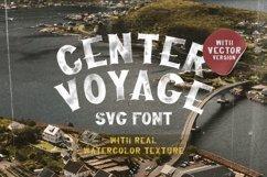 Center Voyage - SVG Font Product Image 1