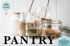 Pantry - Farmhouse Sign Kitchen SVG Product Image 3