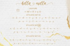 Hella mella - a Lovely Script Font Product Image 4