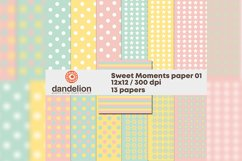 """""""Sweet moments"""" paper 01 Product Image 1"""
