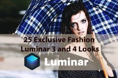 25 Exclusive Fashion Luminar 3 and 4 Looks Product Image 1