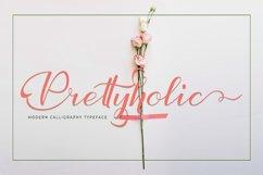 Prettyholic |Script Typeface Product Image 1