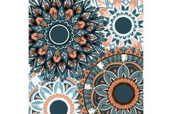 Boho flowers - mandala patterns Product Image 5