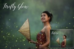 Sparkling firefly photographic overlays Product Image 4