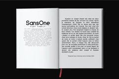 Sans One Font family Product Image 6