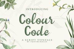 Web Font Colour Code Product Image 1