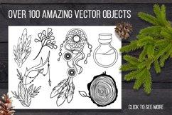 Sacred forest- big vector design kit Product Image 6