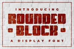Rounded Block Product Image 1