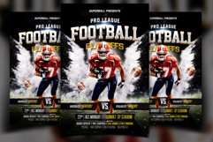 American Football Flyer Product Image 1