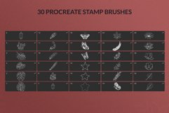30 Decorative Procreate Stamps Product Image 2