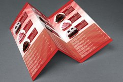 Cupcakes Trifold Brochure Template Product Image 2