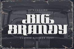 Big Brandy | Classic Vintage Font Product Image 1