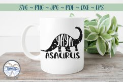 YAYASAURUS - Family SVG for Grandmothers Product Image 1