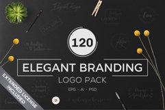 120 Elegant Branding Logo Pack Product Image 1