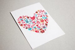 Set of Valentine's Day elements Product Image 3