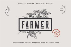 The Farmer Font - Condensed Typeface Product Image 2