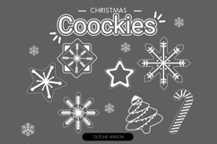 Christmas cookies clipart vol.1 Product Image 3