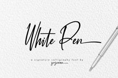 White Pen Script Product Image 1