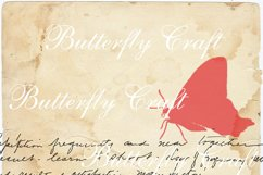 Butterflys Digital Paper, Vintage paper , Butterfly clip art Product Image 5